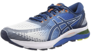 Men's Asics Gel Nimbus 21. Best running shoes for men