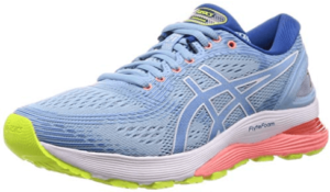 Women's Asics Gel Nimbus 21. Best running shoes